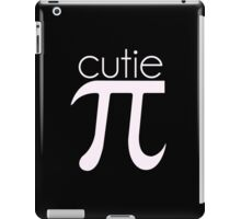 Cute Cutie Pie Pi iPad Case/Skin