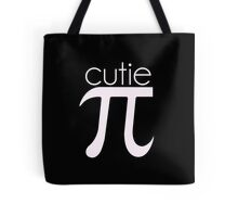 Cute Cutie Pie Pi Tote Bag