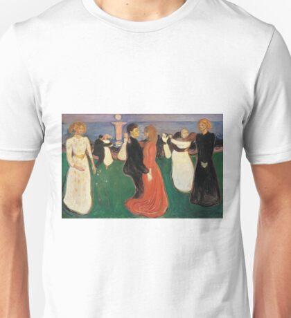 Edvard Munch - Dance Of Life 1900 Unisex T-Shirt