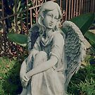 My Garden Angel by Marie Sharp