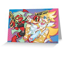 Panty & Scanty Greeting Card