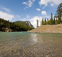 Bow River by Mary  Lane