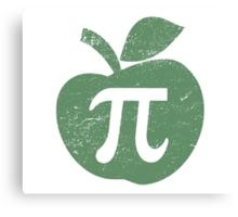 Apple Pie Pi Day Canvas Print