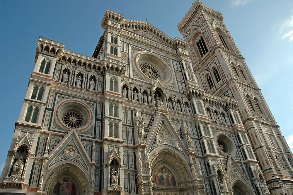 Florence Cathedral by Mary  Lane