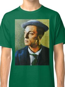 Buster Keaton, Vintage Hollywood Actor Classic T-Shirt