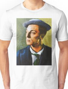 Buster Keaton, Vintage Hollywood Actor Unisex T-Shirt