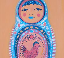 Almost the Middle Matryoshka by apcomfort