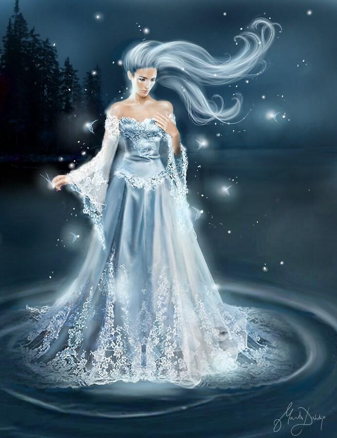 Moon Goddess by Angellove212