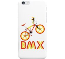 BMX (Red & Yellow) iPhone Case/Skin