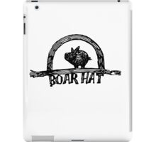 The Boarhat Bar logo iPad Case/Skin