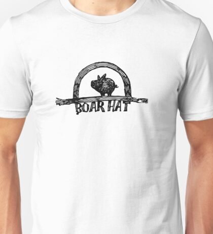 The Boarhat Bar logo Unisex T-Shirt