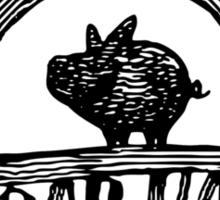 The Boarhat Bar logo Sticker