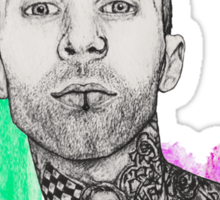 Travis Barker Sticker
