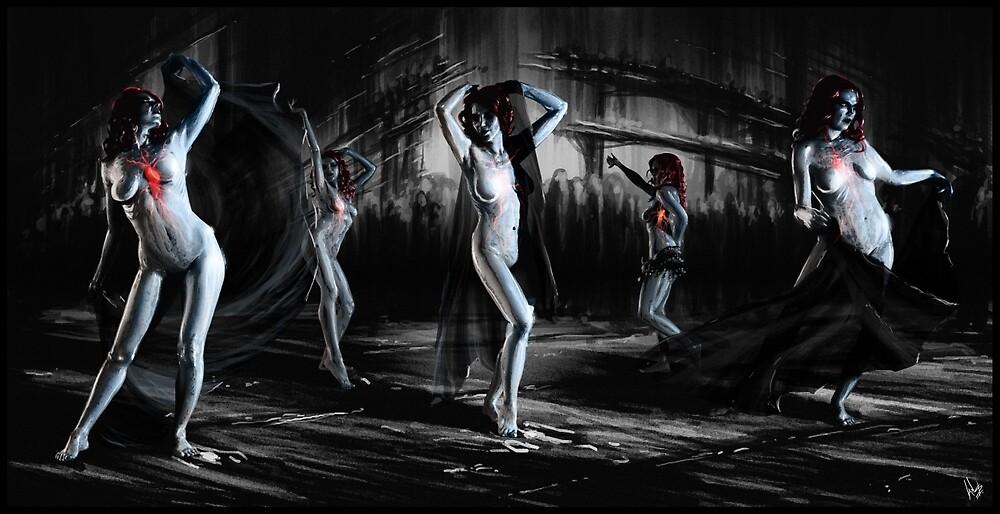Gothic Triptych 01 Overall by Ian Sokoliwski