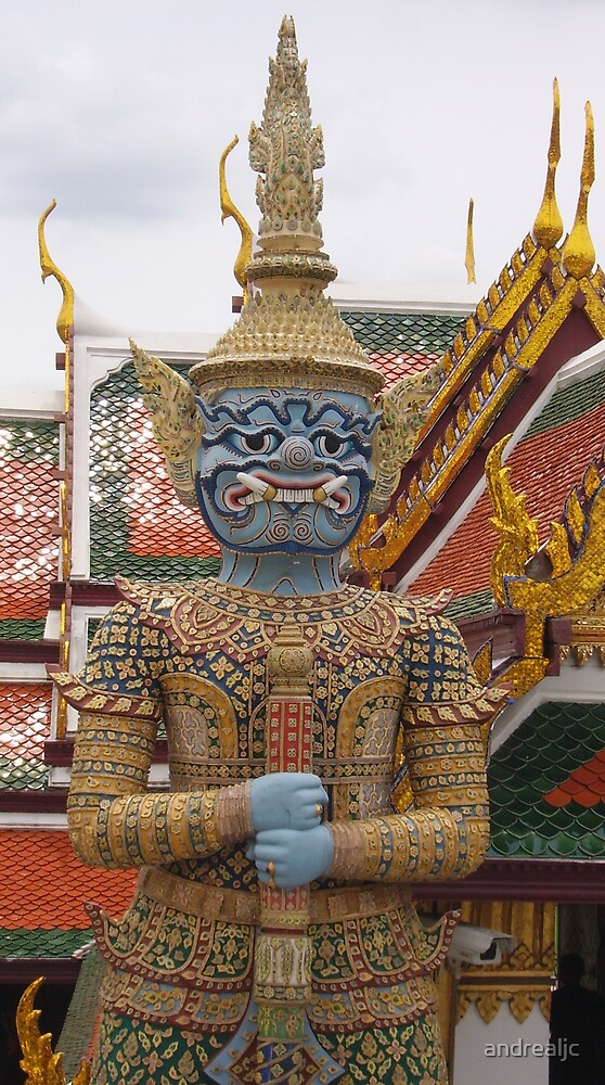 At the Grand Palace by andrealjc