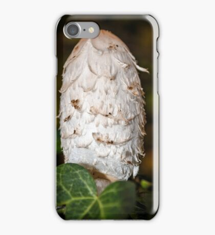 Shaggy Inkcap or the Lawyer's Wig iPhone Case/Skin