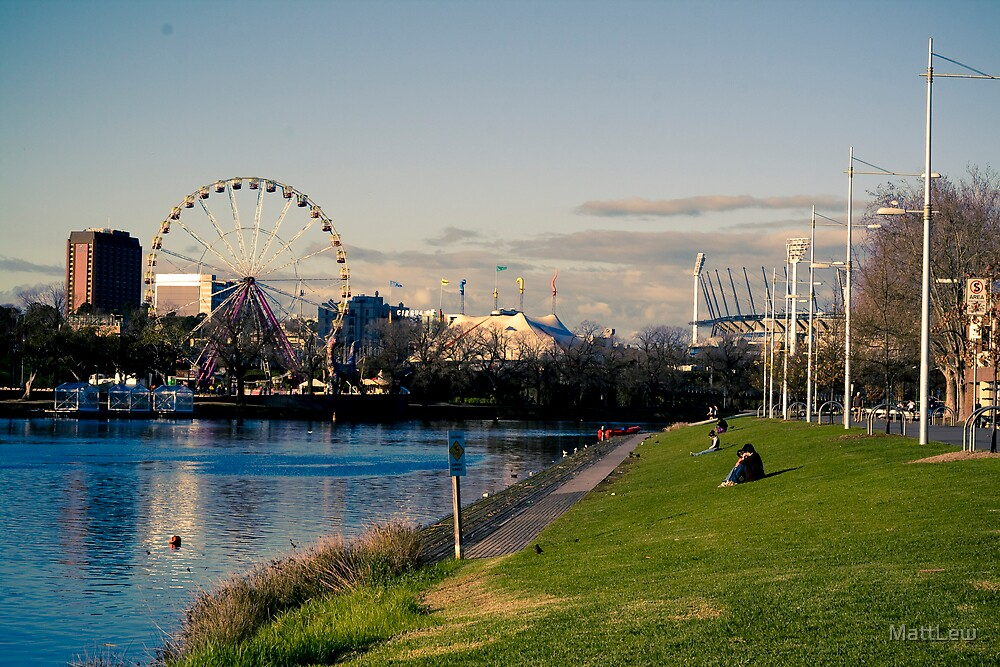 Yarra River - Melbourne by MattLew