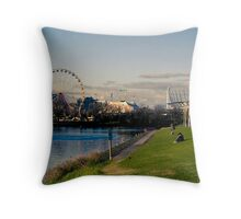 Yarra River - Melbourne Throw Pillow