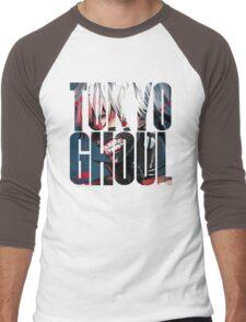 Tokyo Ghoul Logo 2 Men's Baseball ¾ T-Shirt