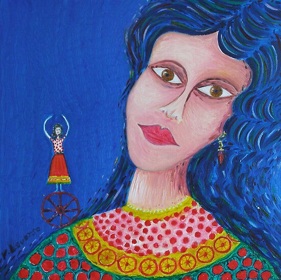 Gypsy Woman by Vincent Loverso