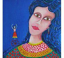 Gypsy Woman Photographic Print