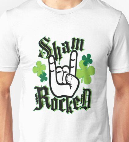 Shamrocked St. Patricks Day Unisex T-Shirt
