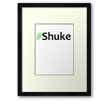 Faking It - #Shuke Framed Print