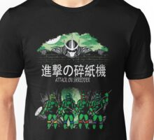 Attack on Shredder (All Turtles) Unisex T-Shirt