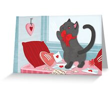 Love Cat Greeting Card