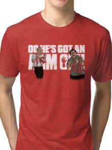 Oo He's Got An Arm Off! Tri-blend T-Shirt