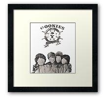 Goonies Framed Print