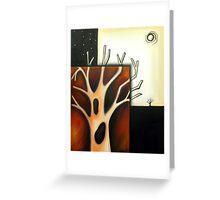 Tree with Holes Greeting Card