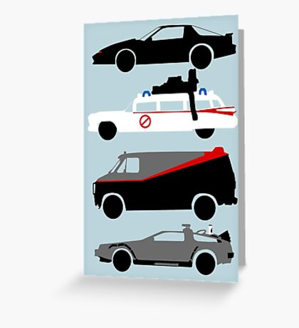 The Car's The Star Greeting Card
