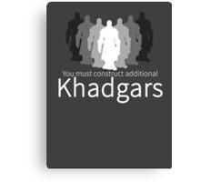 World of Warcraft - Construct Additional Khadgars! Canvas Print