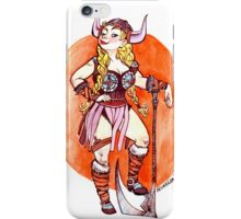 Brunhilda iPhone Case/Skin