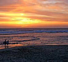 Sunset at Margaret River by Dirk