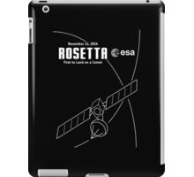 Rosetta -- First to Land on a Comet iPad Case/Skin
