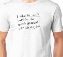 I Like To Think Outside The Box Unisex T-Shirt