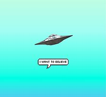 i want to believe ufo by barnvs
