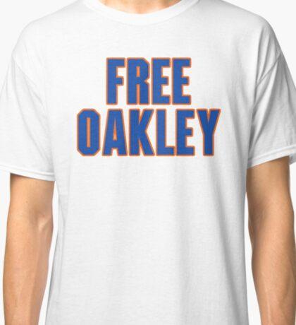 Free Charles Oakley - New York Classic T-Shirt