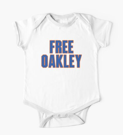 Free Charles Oakley - New York One Piece - Short Sleeve
