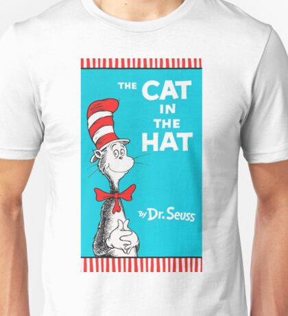 The Cat in The Hat by Dr Suess Unisex T-Shirt
