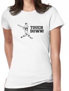 Touchdown Homerun Baseball Football Sports Womens Fitted T-Shirt