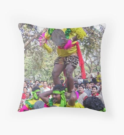 Tribals of India Throw Pillow