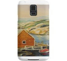 BEST CANADIAN PAINTINGS OF PEGGY'S COVE BY CANADIAN ARTIST CAROLE SPANDAU Samsung Galaxy Case/Skin