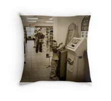 Mid West USA Throw Pillow