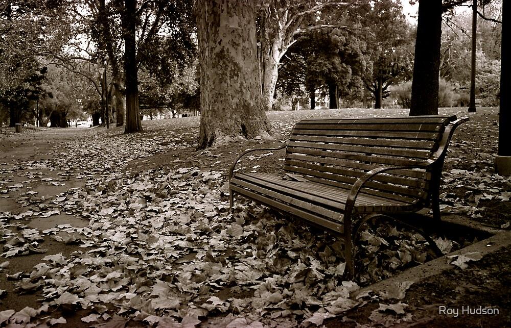Park Bench by Roy Hudson