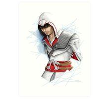 Ezio caught in Limbo Art Print