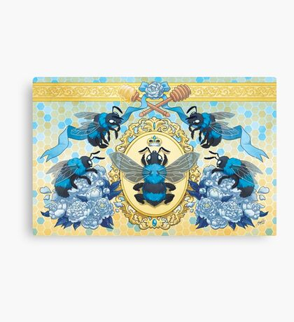 Royal Honey Canvas Print