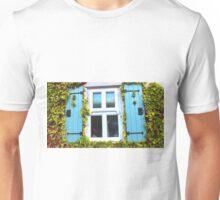 Cottage Window and Ivy Surround Unisex T-Shirt